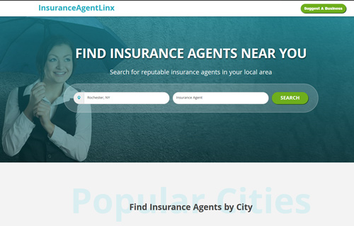 InsuranceAgentLinx website Screenshot