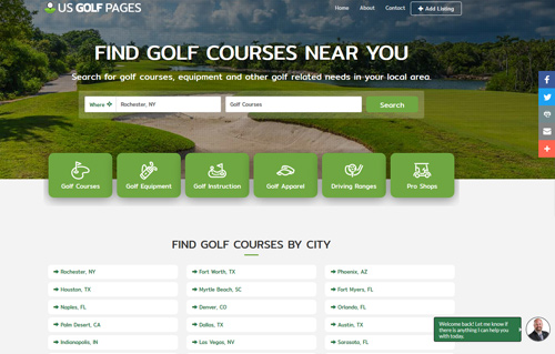 USGolfPages Screenshot